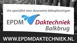 Gespecialiseerd in de  verwerking van EPDM dakfolie