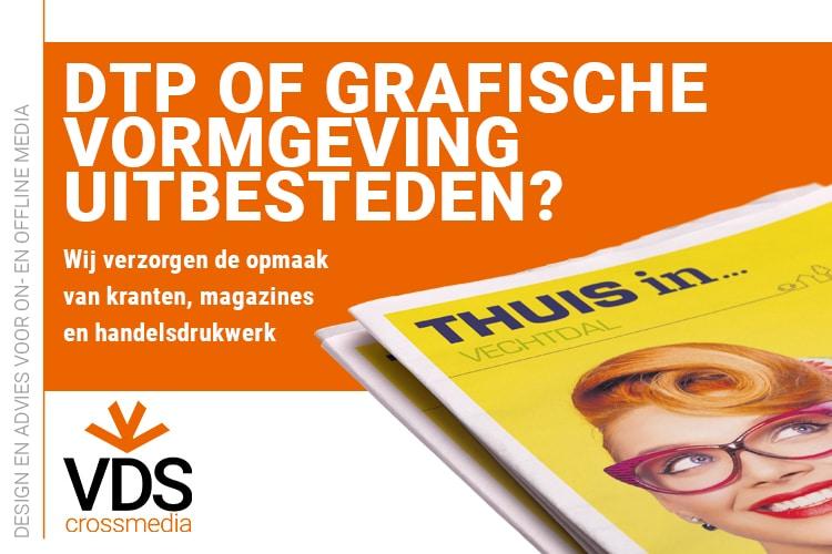 VDS crossmedia Vechtdal Grafische vormgeving DTP