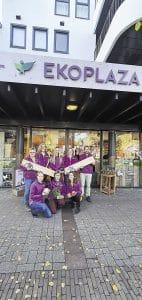 Ekoplaza Emmen erg in trek 'De consument is echt toe aan eerlijk en gezond voedsel'